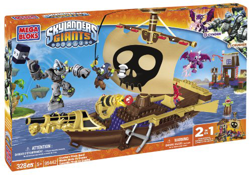 Mega Bloks - Skylanders - Crusher's Pirate Quest